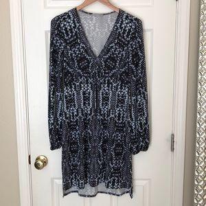 TART animal printed knit dress, small